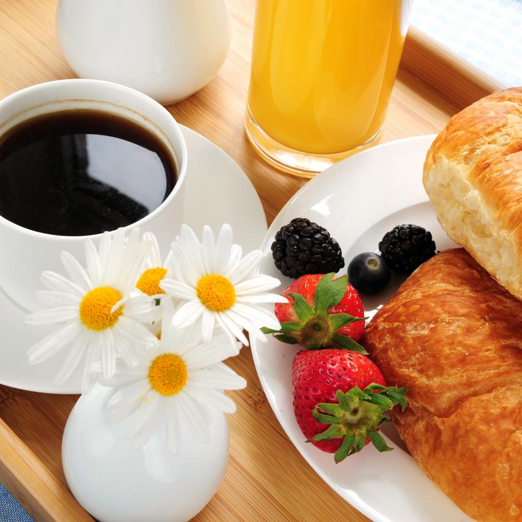 Uitgebreid ontbijtbuffet