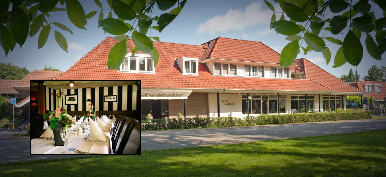 Hotel het Wapen van Delden (voorzijde)