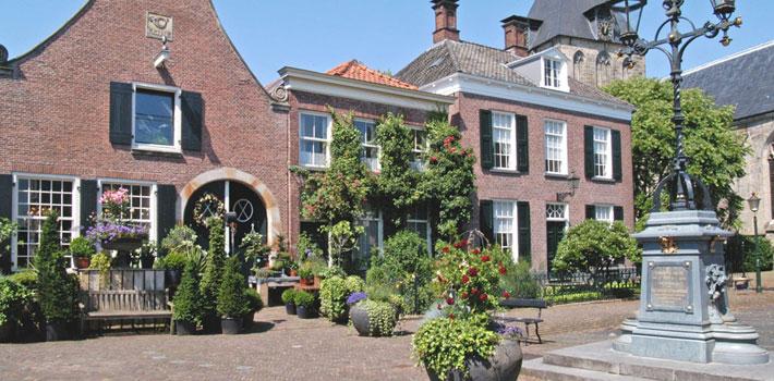 Markt Delden - Hotel het Wapen van Delden