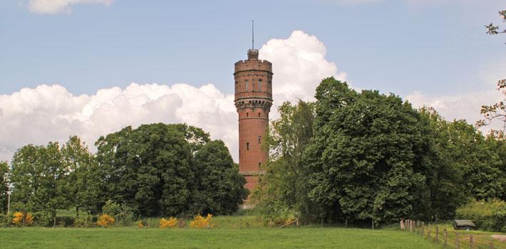 Watertoren Twickel - Hotel het Wapen van Delden